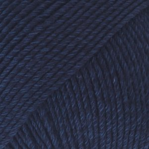DROPS Cotton Merino 8 marineblauw