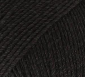 DROPS Cotton Merino 2 zwart