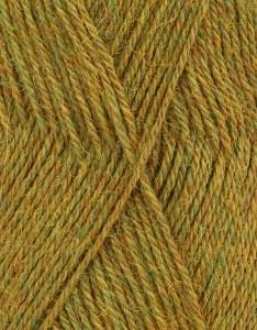DROPS Alpaca mix 7233 geel/groen