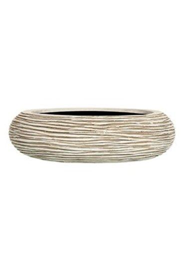 Capi Nature Schaal bol rib I ivoor (Capi Europe)