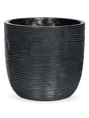 Capi Pot bol rib I zwart
