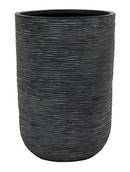 Capi Cilinder rib I zwart