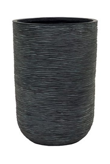 Capi Nature Cilinder rib I zwart