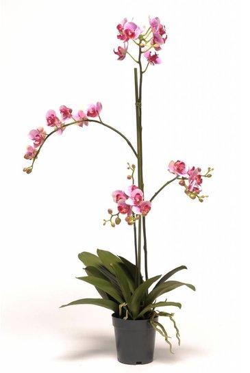 Kunstbloem Orchidee Phaleanopsis Roze