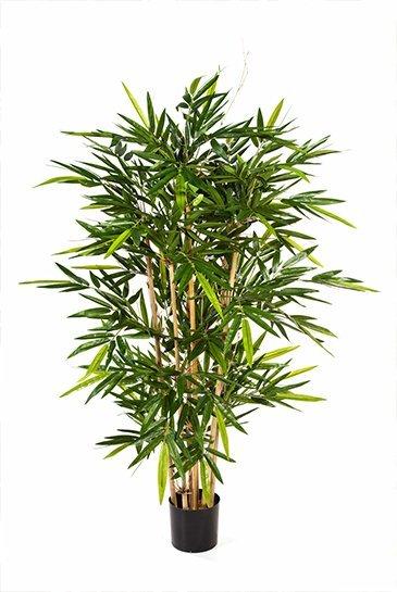 Kunstplant Bamboe - (Zijdeplant)