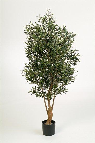 Kunstboom Olijfboom - (Zijdeplant)