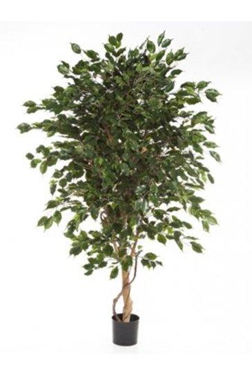 Kunstplant Ficus exotica de luxe - (Zijdeplant)