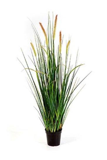 Kunstplant Foxtail wild grass - (Zijdeplant)