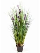 Kunstplant Lavender grass