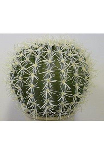 Kunstplant Golden barrel cactus - (Zijdeplant)