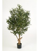 Kunstplant Natural twisted olive