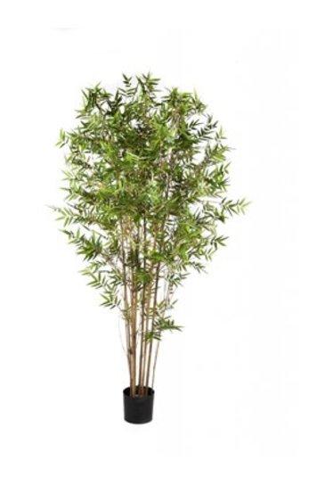 Kunstplant Japanese oriental bamboo - (Zijdeplant)