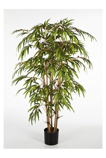 Kunstplant Bamboo - (Zijdeplant)