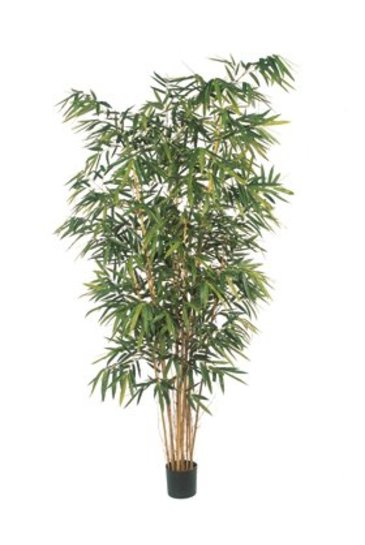 Kunstplant New bamboo big leaf - (Zijdeplant)