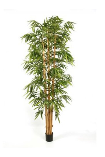 Kunstplant New giant bamboo big leaf