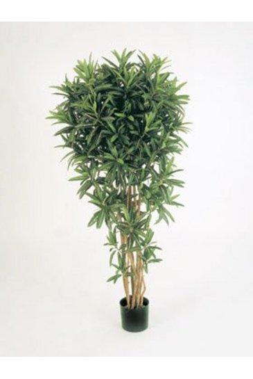 Kunstplant Croton goldfinger reflexa - (Zijdeplant)
