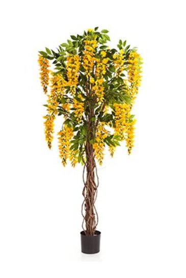 Kunstplant Wisteria liana - (Zijdeplant)