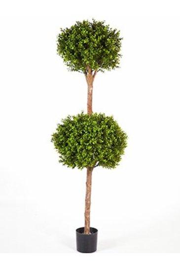 Kunstplant Boxwood double ball - (Zijdeplant)