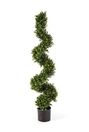 Kunstplant Boxwood spiral tree