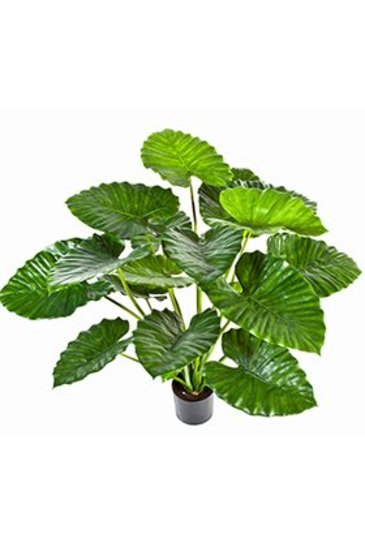 Kunstplant Alocasia calidora - (Zijdeplant)