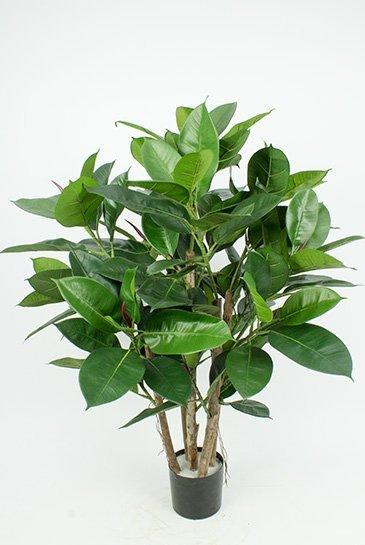 Kunstplant Rubber plant - (Zijdeplant)