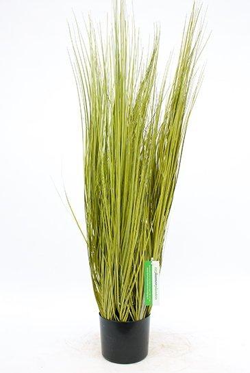 Kunstplant Miscanthus gold grass - (Zijdeplant)