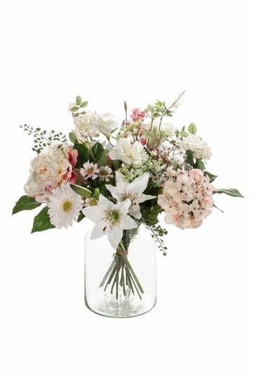 Kunstplant Bouquet soft pastels