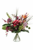 Kunstplant Bouquet exotic mix