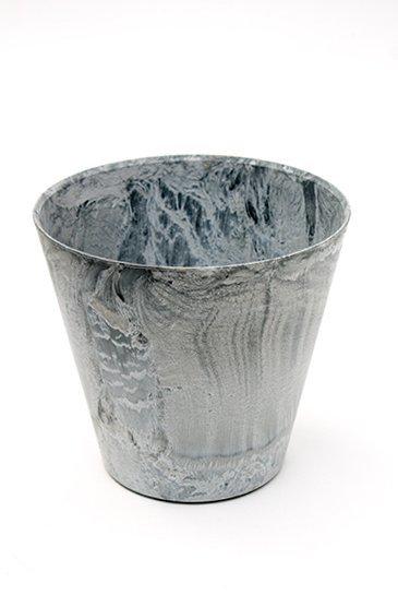 Artstone Claire pot grijs (Kunststof bloempot)