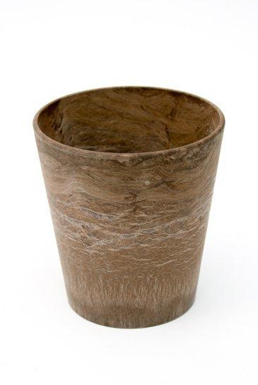 Artstone Claire pot bruin (Kunststof bloempot)