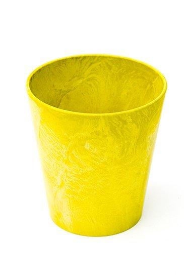 Artstone Claire pot lemon (Kunststof bloempot)