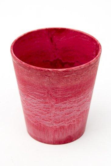 Artstone Claire pot rood (Kunststof bloempot)