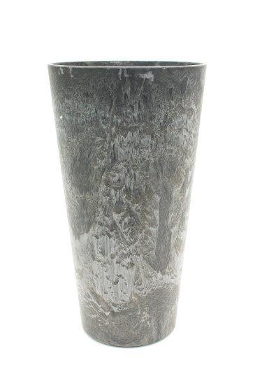 Artstone Claire vaas grijs (Kunststof bloempot)