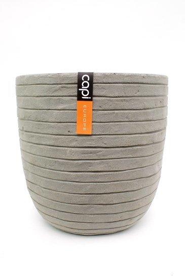 Capi Tutch Row Pot bol grijs (Capi Europe)