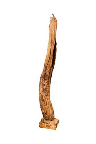 Decowood Eroded wood tall on stand