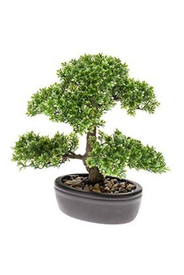 Kunstplant Bonsai Ficus mini  - Zijdeplant