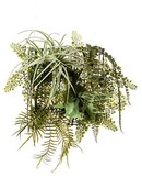 Kunstplant Fern/tillandsia Mix on iron stand