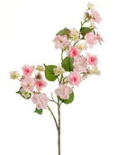 Kunstplant Hydrangea anomala Branch pink
