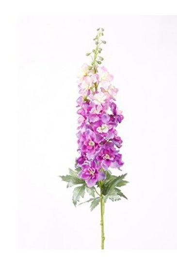 Kunstplant Delphinium Spray purple - Zijdeplant