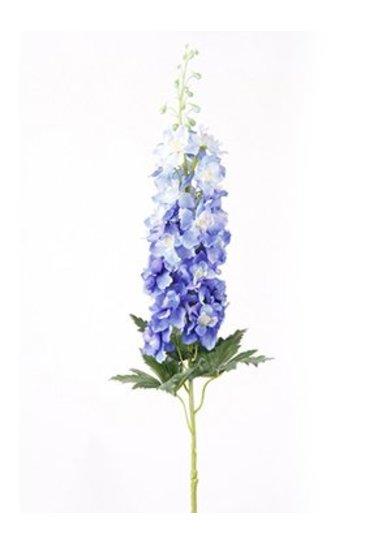 Kunstplant Delphinium Spray blue - Zijdeplant