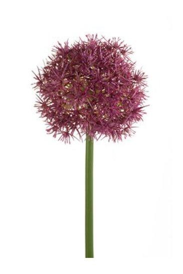 Kunstplant Allium Stem purple - Zijdeplant