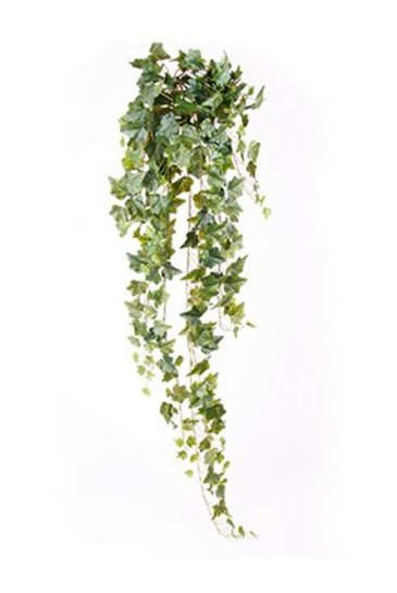 Kunstplant Ivy Hanging bush green - Zijdeplant