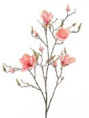 Kunstplant Magnolia Pink branche