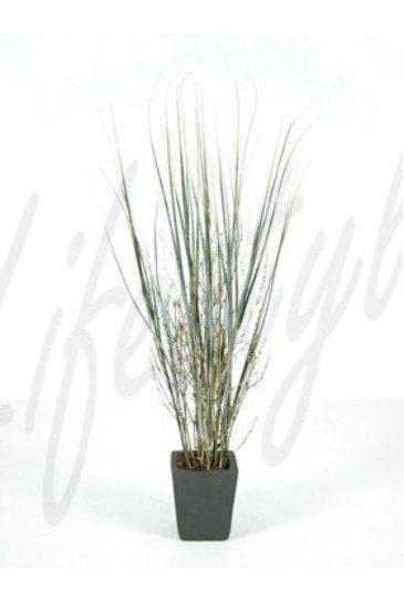 Kunstplant Gras plant bamboo  - Zijdeplant