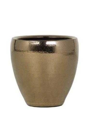 Amora Gold (Keramieken bloembak)