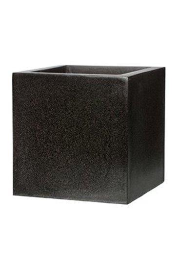 Capi Lux Pot vierkant IV zwart (Capi Europe)