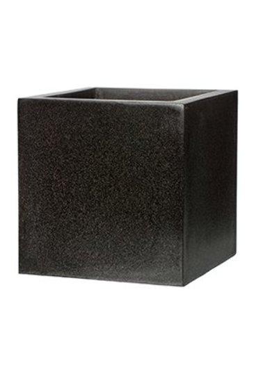 Capi Lux Pot vierkant V zwart (Capi Europe)