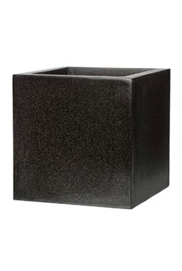 Capi Lux Pot vierkant VI zwart (Capi Europe)