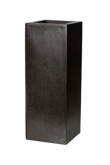 Capi Lux Pot vierkant I zwart (Capi Europe)