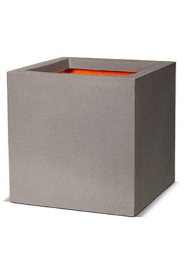 Capi Tutch Pot vierkant III lichtgrijs (Capi Europe)